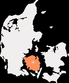 Danmarks kort